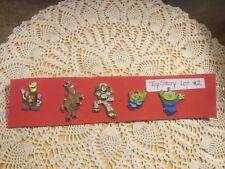 Disney Toy Story.  LOT #2.  Set of 5 Disney Pins.  See Photos.