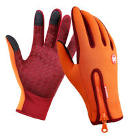 Thermal Gloves Cycling Full-Finger Gloves Screen Windproof Driving Mitten