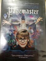 DVD Movie THE PAGEMASTER Macaulay Culkin  New