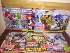 Nintendo Accion Lote 7  Revistas Wii Wii U Gba Snes Nes Gameboy Advance Switch