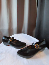 chaussures robert clergerie cuir et daim noir pointure 9,5