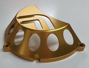 Ducati Billet Vented Dry Clutch Cover Anodised Gold 748 916 996 998 1098