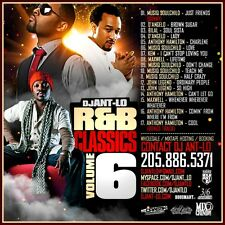 DJ ANT LO SOUL & R&B CLASSICS MIX CD VOL 6