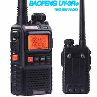 MINI Baofeng UV-3R+Plus Walkie Talkies Dual band UHF/VHF Ham CTCSS Two-Way Radio