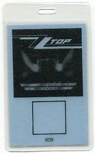 Zz Top 1983 Eliminator Tour Laminate Backstage Pass! concert stage Otto