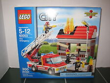 Lego City Fire Emergency  #60003 NEW