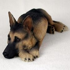 NEW Black and Tan German Shepherd Figurine Life Like Sculpture Statue CC-DFL08A
