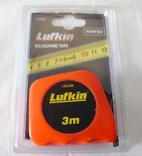 Tape Measure Metal Measuring 3M & Belt Clip Metric