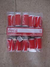 Kurt Adler Coca Cola 10 Light Can Light Set-NIP