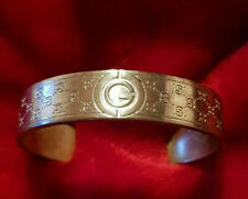 GUCCI Armspange Spange Sterling Silber 925 / Silver Bangle BRACELET Italy