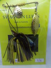 SWAGMAN LURES 3/8oz spinnerbait. Aussie made