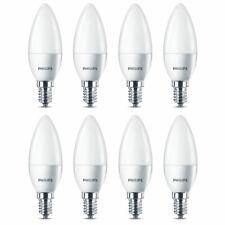 8 x Philips LED Kerze 5,5W = 40W E14 matt 520lm Neutralweiß 4000K Kalt UVP 45€