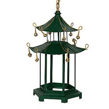 "Pagoda-Inspired Metal Chandelier 18.5""x16""x29"" - FD42167"