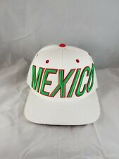 MEXICO embroidery Adjustable Snapback Mens Hat