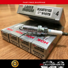 4PCS NGK Laser Iridium DILKAR7G11GS 91578 Spark Plug FOR HONDA ACCORD CRV CIVIC