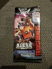 2019 SDCC Transformers TCG Convention Expansion Pack Cards OMNIBOTS IN HAND