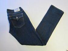 True Religion Jeans 28 Billy Straight Flap Pockets Juniors