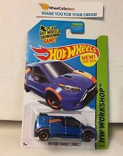 HW Ford Transit Connect #210 * Blue * 2014 Hot Wheels * E25