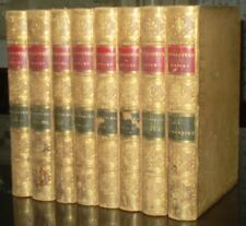 BEAUTIFUL ANTIQUE LEATHER SET, WORKS OF WILLIAM SHAKESPEARE, KNIGHT, 1880s