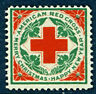 WX6 1910 Christmas Seal - Red Cross Mint Never Hinged (Stock Scan)
