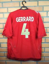 Gerrard England Jersey 2006 2008 Away XL Shirt Soccer Football Umbro Trikot
