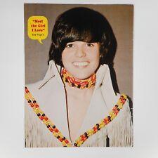 Donny Osmond Concert Poster Print Vtg 70s Photo Smiling Spec Magazine