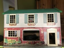 Vintage Wolverine Tin Litho Doll House Dollhouse 1950's