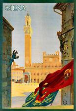 L'ARTE Annuncio SIENA Travel Poster stampati