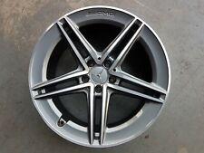 9 x 19 ET25 Original Mercedes AMG Alufelge Felge C63 W205 S205 A2054012001 Grau