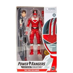 Hasbro Power Rangers Lightning Collection Time force Red Ranger *Brand New*