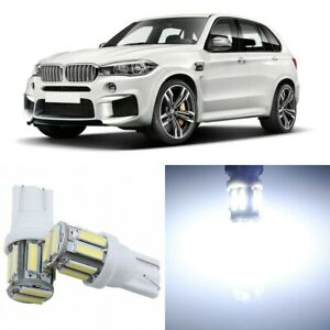24 x Super Bright Xenon White Interior LED Lights Package For 2014 - 2018 BMW X5