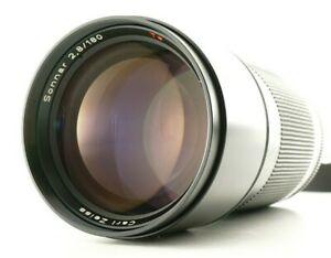 Near MINT Contax Carl Zeiss Sonnar T 180mm f/2.8 MMJ Portrait Lens From Japan
