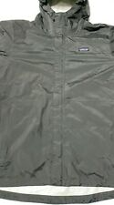 Patagonia Mens XXL H2NO Dark Gray Rain Jacket