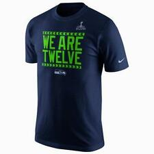 New Mens Nike Seattle Seahawks Super Bowl XLVIII We Are Twelve T Shirt Size XL