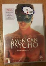 American Psycho (DVD, 2000) new and sealed