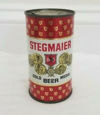 Stegmaier Single-sided Flat Top Beer Can from Wilkes-Barre, Pa - Florida stamp