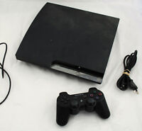 Console PS3 Playstation 3 SLIM 320 Go CECH-2504B + 1 manette sans fil FONCTIONNE