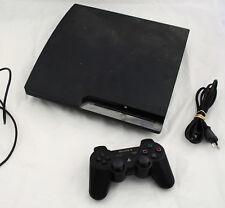Console PS3 Playstation 3 SLIM 320 Go CECH-2504B + 1 manette sans fil FONCTIONNE