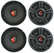 "4) Lanzar OPTI10MI 10"" 4000 Watt 4-Ohm High Power Mid Bass Car Audio Speakers"