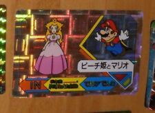 SUPER MARIO WORLD BANPRESTO CARDDASS CARD PRISM CARTE N°35 NITENDO JAPAN 1992 **