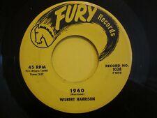 Wilbert Harrison 1960 b/w Good Bye Kansas City Fury 1028 VG+ 45