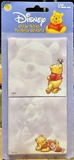 Disney Winnie the Pooh Set Of 2 Sticky Notes New In Package -Sandylion