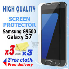 3 Crystal Screen Guard Clear Screen Protector For Samsung Galaxy S7