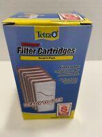 6 Tetra Whisper Assembled Bio-Bag Filter Cartridges for Aquariums FishTank, Sm