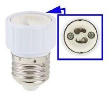 Gu10 F e27 M Light Lamp Bulb Adapter Converter Bulb Adapter Converter