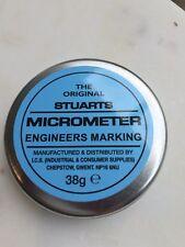 Stuarts Micrometer Engineers Marking Blue 38g Tin