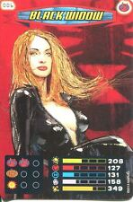 Spiderman Heroes And Villains Card #006 Black Widow