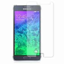 2x QUALITY CLEAR SCREEN PROTECTOR GUARD FILM COVER FOR SAMSUNG GALAXY ALPHA