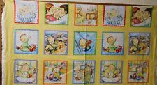 "1 Panel Elizabeth Studios ""My Baby's Day"" Fabric Panel 23"" x 44"""