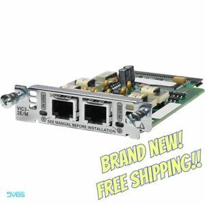 BRAND NEW!! GENUINE! Cisco VIC3-2E/M VoIP 2-Port E&M Voice/Fax Interface Card